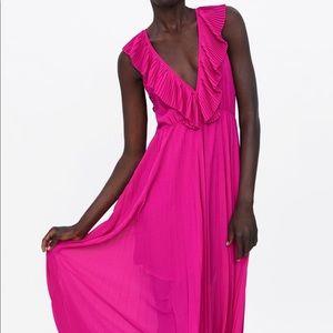 NWT Zara Pink Dress size small